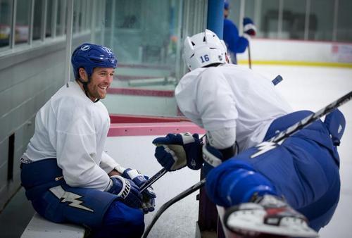 Malone, Ryan - bench smile