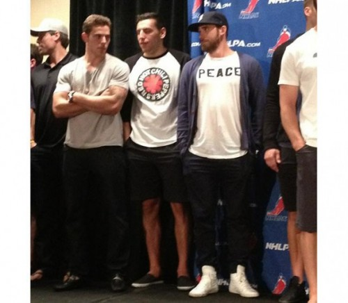 zetterberg - with seguin and lucic