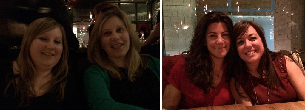 Emma, Alison, me, Lindsay