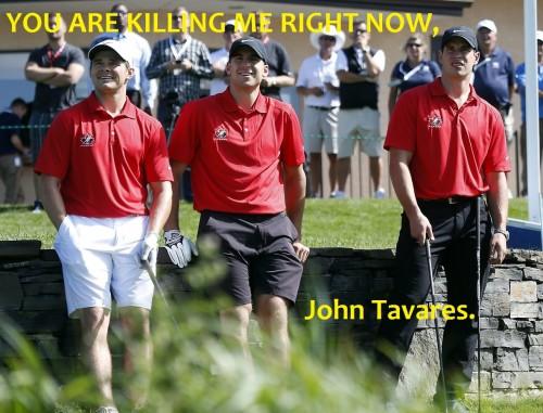 Chris Kunitz, John Tavares, Sidney Crosby